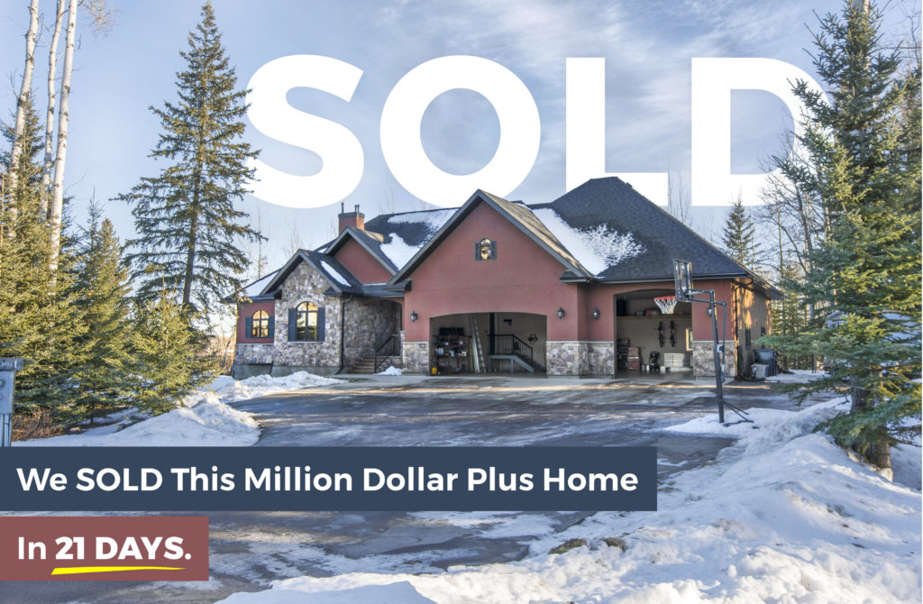 Grande Prairie 1.2m Home sold