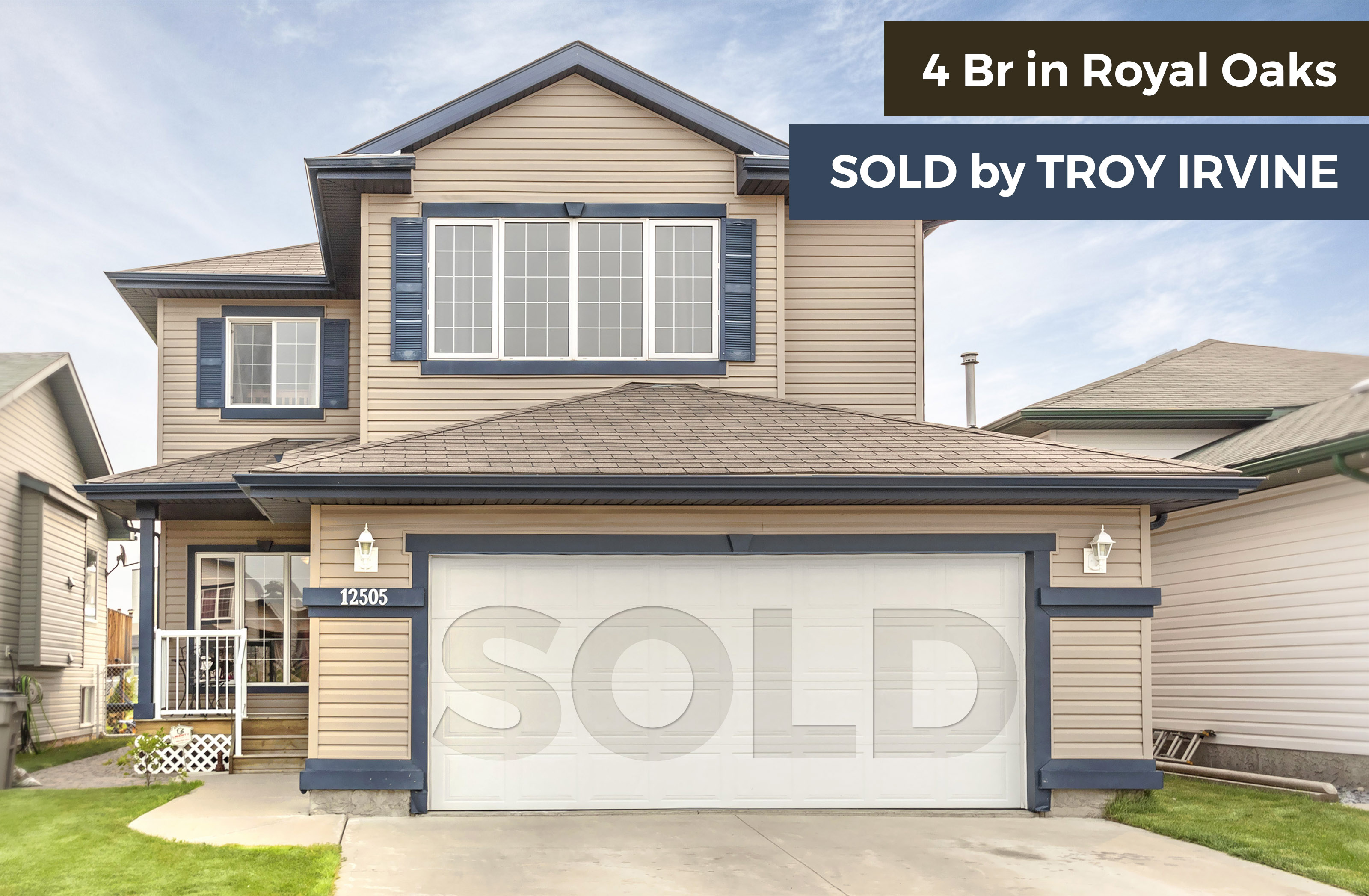 SOLD Royal Oaks Grande Prairie Home